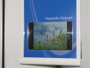 羽田空港からのインフォメーション