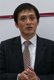 日本hp 執行役員 クライアントソリューション統括本部長 松本光吉氏