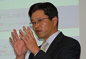 日本IBMソフトウェア事業、Rational事業部長の渡辺公成理事