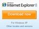 IE 8正式版のダウンロード開始