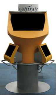 3D動画表示装置を備えたキオスク端末