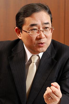 常務執行役員 システム部長の根本武彦氏