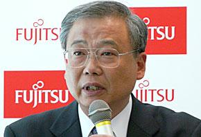 執行役上席常務の石田一雄氏