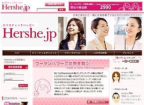 Hershe.jpのトップページには現在の募金数がカウントされている