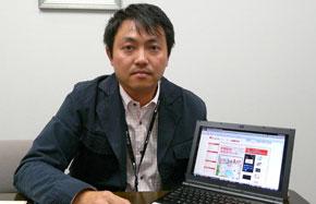 ソニー NPSG企画戦略部門 事業戦略2部 FLO:Qプロジェクト室 室長の竹下直孝氏