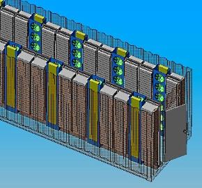 Rackable Systems(現SGI)の空冷デザイン
