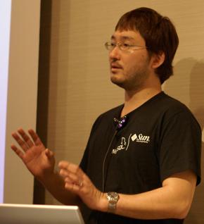 サン・マイクロシステムズ株式会社 MySQLサポートサービス本部 シニアテクニカルサポートエンジニアの奥野幹也氏