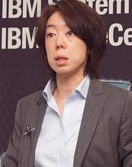 日本IBM 小林泰子 System x事業部長