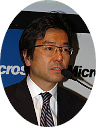 マイクロソフト 樋口泰行社長