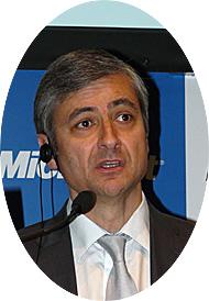 米Microsoft プレジデントのジャンフィリップ・クルトワ氏