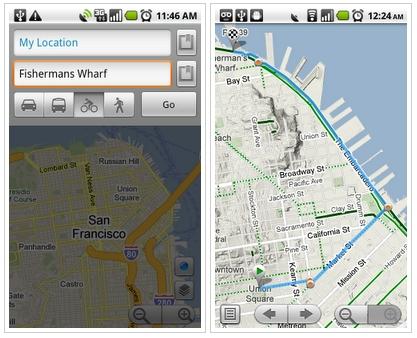 Googleandroid向けgoogle Mapsに共有機能や自転車レイヤーを追加