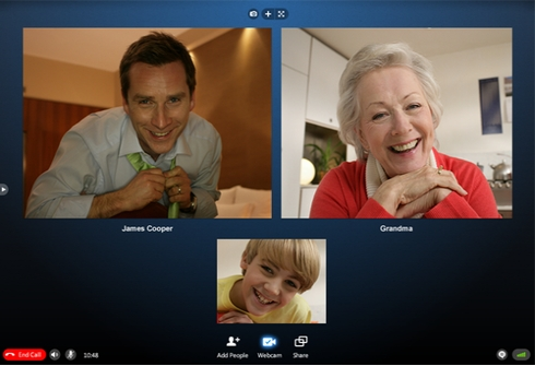 skype group calling