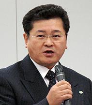 日立製作所 情報・通信システム社 RAIDシステム事業部長の岩崎秀彦氏