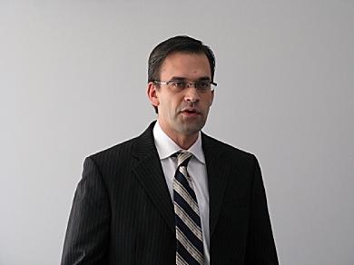 マイクロソフトのエンタープライズビジネス戦略について語る平野拓也執行役常務