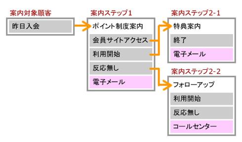 図2:マルチステップ型キャンペーンの設定例