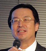 経済産業省 商務情報政策局長の石黒憲彦氏