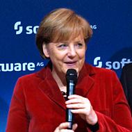 ドイツのアンゲラ・メルケル首相