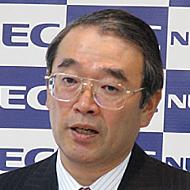 NEC 遠藤信博社長