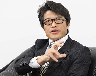 MIJSコンソーシアムの理事長を務める、ウイングアーク テクノロジーズの内野弘幸代表取締役社長