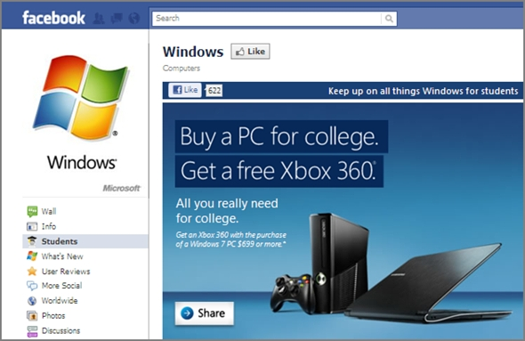 windows 7 campaign
