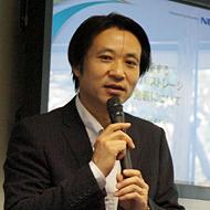 プラットフォームマーケティグ戦略本部の浅賀博行統括マネージャー