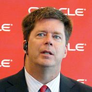米Oracle システムズ担当エグゼクティブ・バイスプレジデントのジョン・ファウラー氏