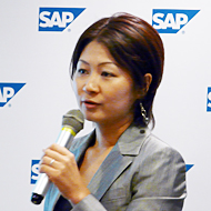 SAP ソリューション営業統括本部 BA&T事業開発 EIM事業開発マネジャーの坂本環氏