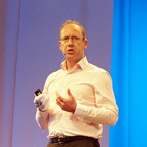 Alcatel-Lucent エンタープライズ事業のMerijn te Booij氏