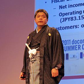 NTTドコモ 情報システム部 顧客システム担当 担当課長の大原淳史氏