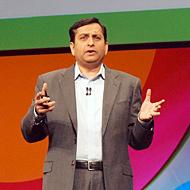 米IBM Watson Solutions ゼネラルマネジャーのマノジ・サクセナ氏