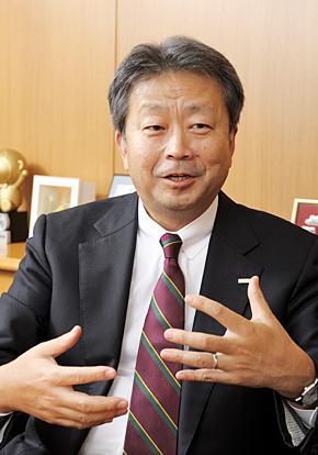 NTTコミュニケーションズ 経営企画部長の澤田純常務取締役