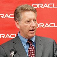 米Oracle ビジネス・インテリジェンス/プロダクトマネジメント担当バイスプレジデントのポール・ロドウィック氏