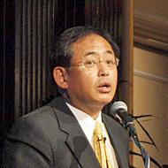 日本IBMの下野雅承取締役副社長