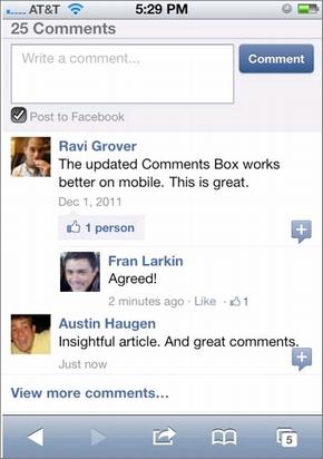 comments box 2
