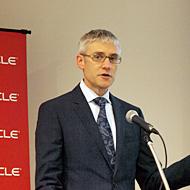 米Oracle 製品管理担当シニアディレクターのマイケル・リーマン氏