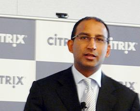 米Citrix クラウドプラットフォームグループ バイスプレジデント兼ゼネラルマネジャーのサミール・ドラキア氏