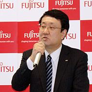 富士通 執行役員 ソフトウェアインテグレーション部門 クラウドプラットフォーム開発本部長の今田和雄氏