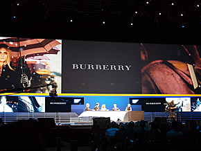 ユーザー企業のパネルディスカッションでは、Burberryのほか、両替機を開発する米Coinstarやホームセンターの米Ace HardwareのCEOが登壇した