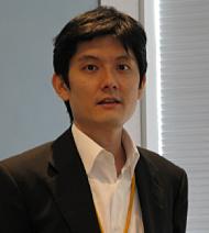 記者説明会に臨むSAPジャパン ソリューション統括本部モバイルソリューション部長の井口和弘氏