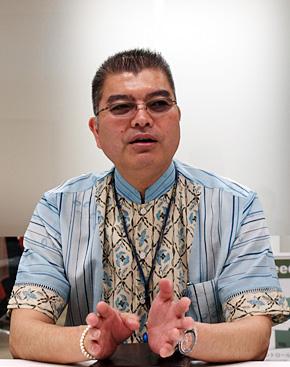 GIX沖縄の渡嘉敷唯昭取締役