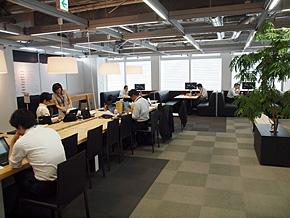 内田洋行新川第2オフィス内の様子