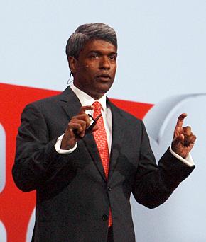 Oracle 製品開発担当エグゼクティブバイスプレジデントのトーマス・クリアン氏