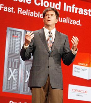 Oracle システムズ担当エグゼクティブバイスプレジデントのジョン・ファウラー氏