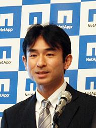 ネットアップ マーケティング部 シニアマネジャーの篠木隆一郎氏