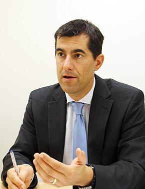 ボーダフォン・グローバル・エンタープライズ M2Mビジネス開発部門長のマーク・ザウター氏