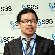 SAS Institute Japanでマーケティング本部長を務める北川裕康氏