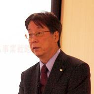 日立製作所 執行役専務 情報・通信システム社 社長の岩田眞二郎氏