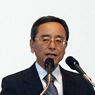 沖縄県情報産業協会会長の仲里朝勝氏
