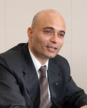 日本IBM 専務執行役員 ソフトウェア事業担当のヴィヴェック・マハジャン氏