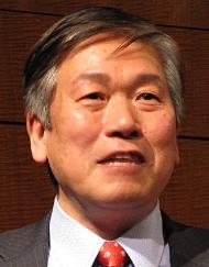 日本オラクルの遠藤隆雄社長